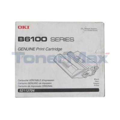 OKIDATA B6100 TONER CARTRIDGE BLACK 6K
